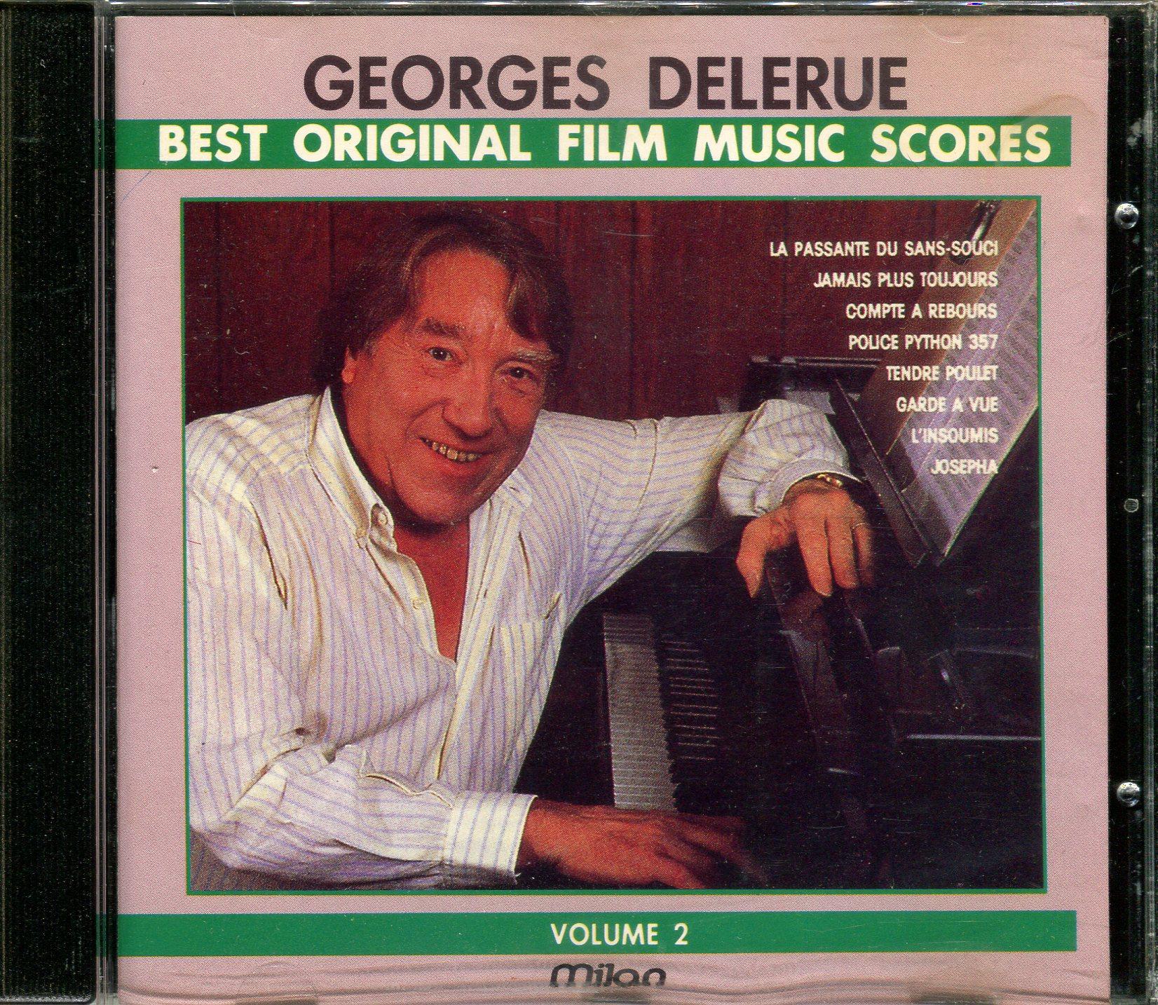 GEORGES DELERUE BEST ORIGINAL FILM SCORES Volume 2