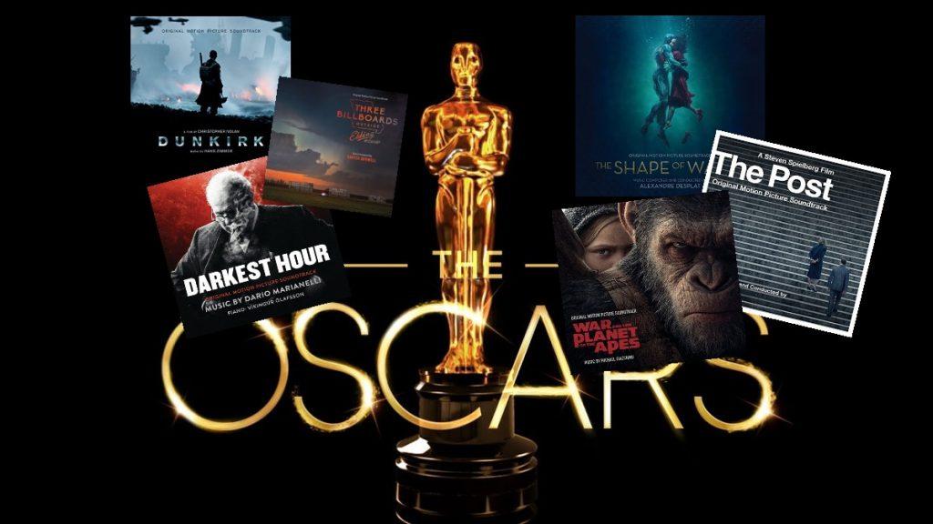 ORIGINAL SCORE OSCAR NOMINATIONS 2017: THE CONTENDERS